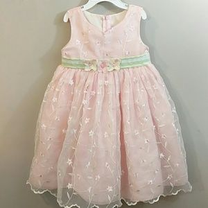 Goodlad Size 18m Baby Girls Black & White Plaid Velvet & Taffeta Holiday Dress Dresses Clothing, Shoes & Accessories