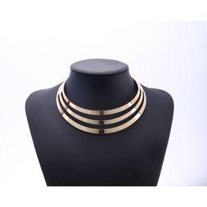 Jewelry - Three Layer Gold Choker