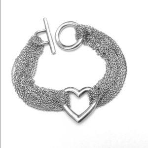 Tiffany & Co. Sterling Silver toggle bracelet