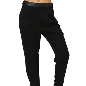 Pants - ONE PAIR LEFT Black trousers with adjustable waste