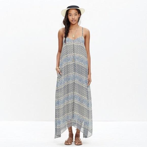 b60b136a4b Madewell Dresses   Skirts - Madewell moroccan tile maxi dress XS