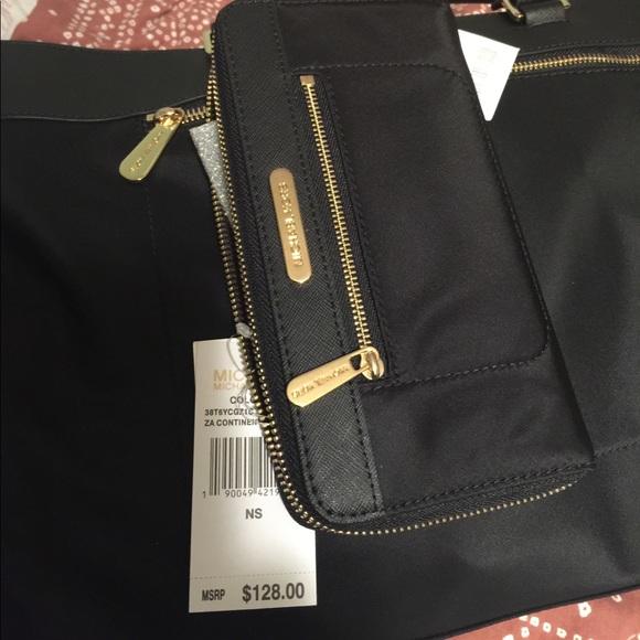 72f8fe6ee747 Michael Kors Bags   Nwt Mk Continental Nylon Wallet Lowest   Poshmark