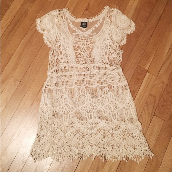 1245205a6 Free People Dresses   Skirts - Boho Lace Festival Dress