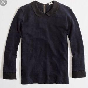 blue j. crew collared shirt on Poshmark