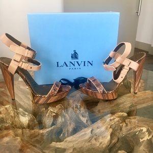 Lanvin Platform Sandals