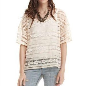 Patterson J. Kincaid Lace T-Shirt