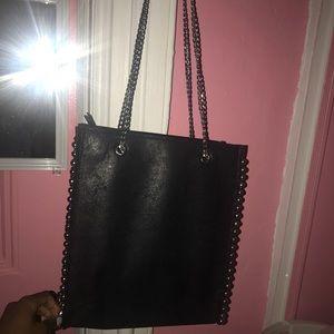 18b203cb0f Zara Bags | Studded Tote Bag | Poshmark
