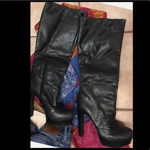 Shoes - 💝Jessica Simpson Boots heels leather upper*pics