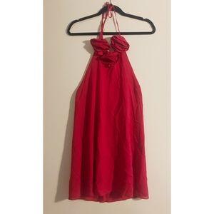 Alice & Olivia red cocktail dress