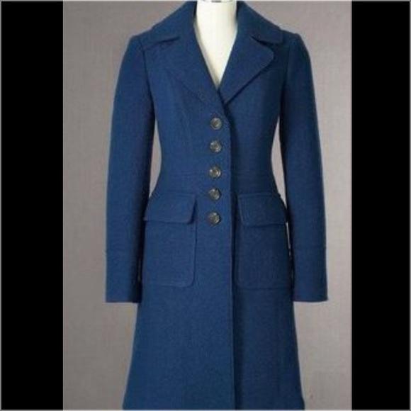 82337e35da0a Boden Jackets & Blazers - EUC Boden Marylebone Boiled Wool Coat fall jacket