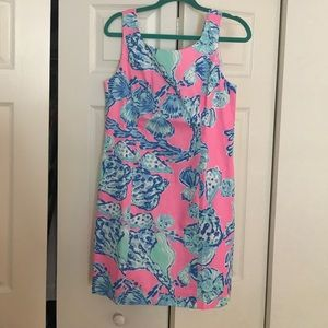 Lilly Pulitzer Cathy Shift Dress Size 6
