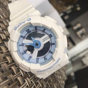 Casio Other - BRAND NEW White Baby G Watch