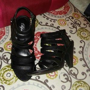paprika strappy sandals