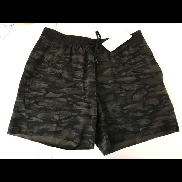Mens Lululemon Channel Cross Camo Shorts Sz XXL 91093d33ac7