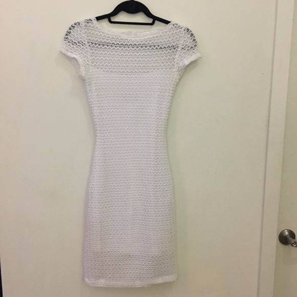 B Darlin Dresses & Skirts - White Multi-Layer Dress