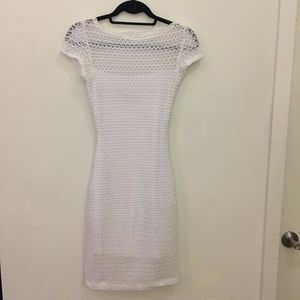 B Darlin Dresses - White Multi-Layer Dress