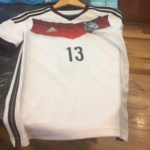 Other - Boys Medium Soccer Jersey- Germany Muller