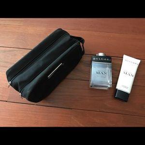 Bvlgari Man Shave Balm + Eau de Toilette + Bag