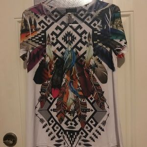 Tops - NWT Tribal Top