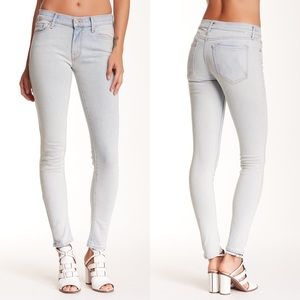 MOTHER The Looker Skinny Jeans Light Wash 28
