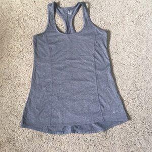 Grey workout tank