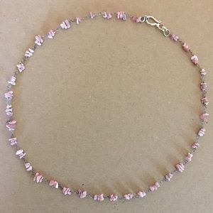 Jewelry - 🛍✨NEW✨Rhodonite Necklace🌸🌸