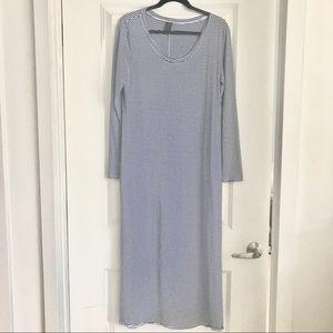 Peruvian Connection striped maxi dress