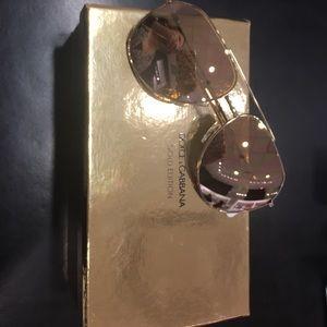 612e4d35d8a7 Dolce & Gabbana Accessories - Dolce & Gabbana 2166 18k gold edition aviators