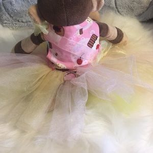 Dresses & Skirts - Dog birthday cupcake dress tutu tulle