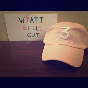 Other - Pink Chance The Rapper Strapback Cap