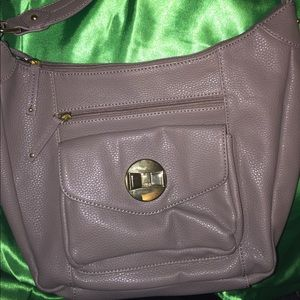 New lulu tan purse