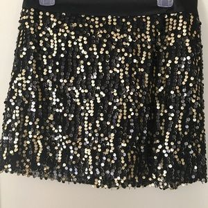 Forever 21 Sequined Party Skirt