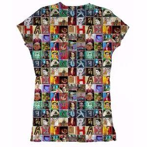 New Frida Kahlo Tee Graphic T-Shirt Cotton