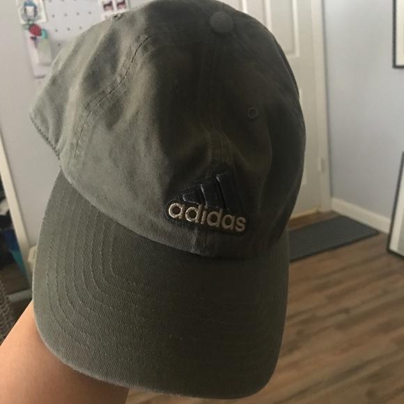 adidas Other - Olive Green Adidas Dad Baseball Cap e7e243cbc1a