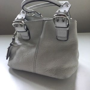 Tignanello since1989 white leather purse