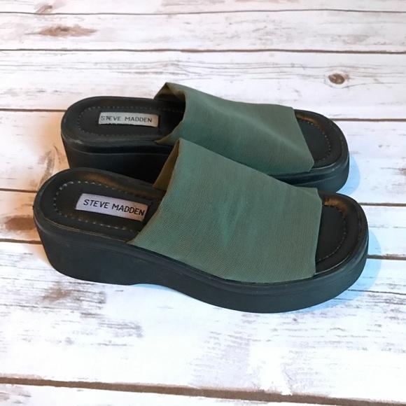87d8699c844d Steve Madden slinky platform sandals!! M 59a315153c6f9f4c57062b41