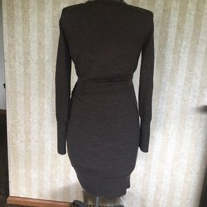 LOFT Dresses - Light brown LOFT sweater dress.