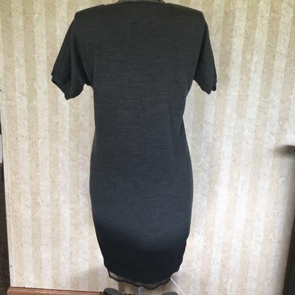 LOFT Dresses - LOFT v-neck ombré sweater dress.