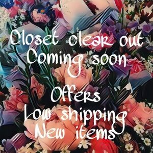 Other - COMING SOON: closet clear out