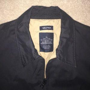 Nautica Black Men's Zip Up Jacket