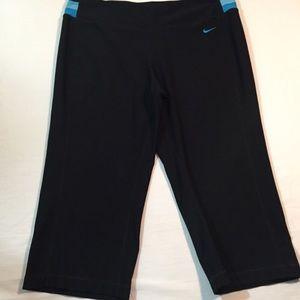 Nike FitDry crop workout pants