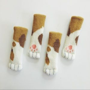 Accessories - Calico Cat Paw Floor Protector Chair Socks