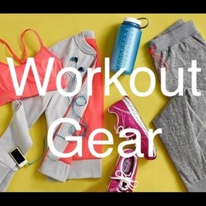 Workout Gear! Get your cute sweat on!