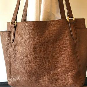 d722f967edf5 Prada Bags -  PRADA Sacca 2 Manici Pebbled Leather Bag