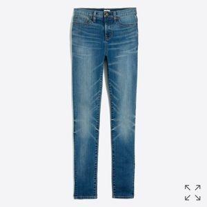 J. Crew Factory high-rise skinny jean