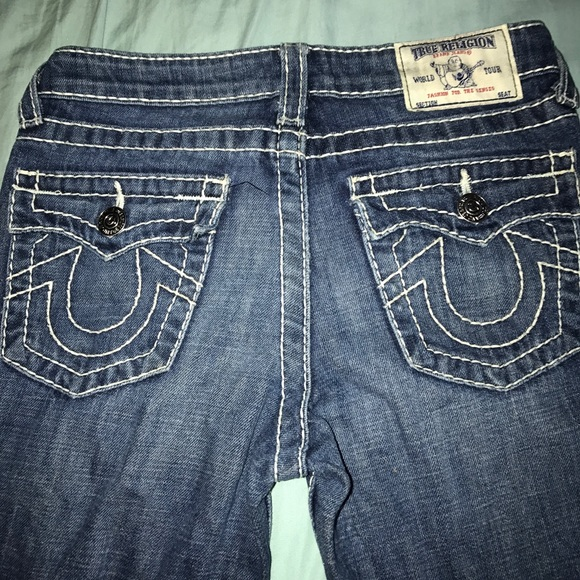 cheap AAA Quality New True Religion Non Elastic Jeans For Men # wholesale True Religion Jeans in $ USD - [FB] watermark_hot_small .