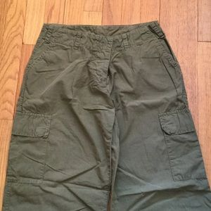 Blu Sand (Italian) low rise cargo pants