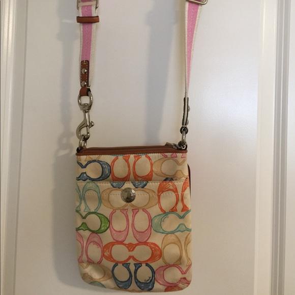 122d9987a3a8 Coach Handbags - Coach Color C s cross body bag small.