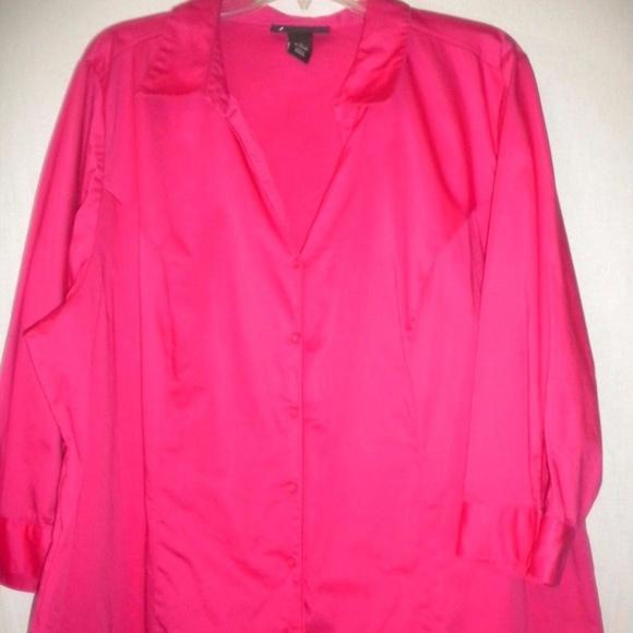 7dafb0c0841 Lane Bryant Women Plus Size 26 Shirt Top Blouse