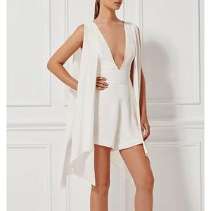 Misha Collection Miramar Silk Romper Size XS new
